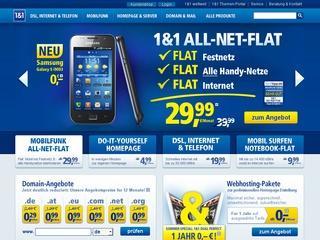 Samsung Galaxy S4 für 0,- Euro bestellen mit All-Net-Flat-Pro von 1und1