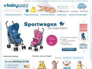 BabyWalz Gutschein 10,- € ab 60,- € MBW
