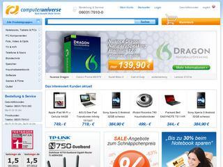 Computeruniverse Gutschein 5,- € ab 50,- € MBW