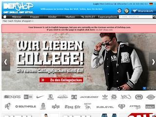 Def Shop Gutschein 10,- € ab 60,- € MBW