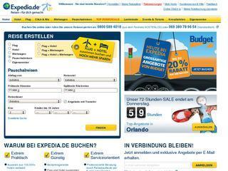 Expedia Gutschein 10 % ab 0,00 € MBW