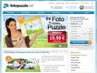 Fotopuzzle Gutschein 17 % ab 0,- Euro MBW