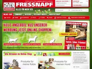 Fressnapf Gutschein 12 % ab 75,- € MBW
