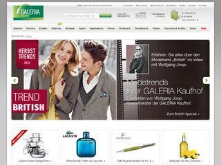 5,- bis 15,- Euro Gutschein für Galeria Kaufhof Online Shop