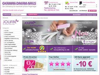 German Dream Nail Gutschein 10,- € ab 50,- € MBW