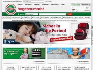 Hagebau Gutschein 5,- Euro ab 50,- Euro MBW