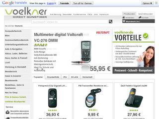 Voelkner Gutschein 5,- Euro ab 30,- Euro MBW