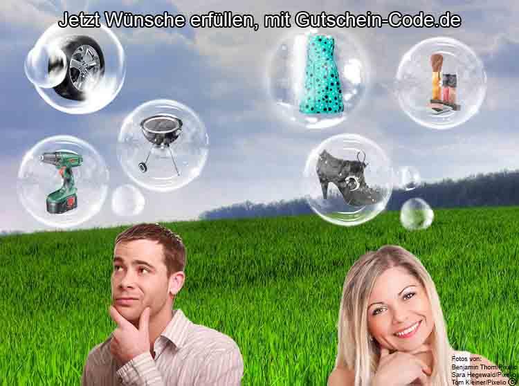 Jetzt Wünsche erfüllen und mit kostenlosen Online Gutscheinen günstiger im Internet einkaufen.